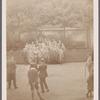 "Group portrait of performers of Schoenberg's ""Gurrelieder"""