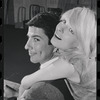 Bert Convy and Jill Haworth in rehearsal for the stage production Cabaret