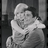Jill Haworth and Bert Convy in rehearsal for the stage production Cabaret