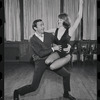 Ron Field and dancer in rehearsal for the stage production Cabaret