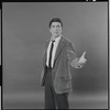 Bert Convy in rehearsal for the stage production Cabaret