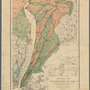 Geological map of a part of southeastern New York showing the distribution of the rocks used as building stones