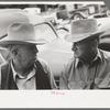 Farmers in town, Spur, Texas.