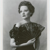 Publicity photograph of Tallulah Bankhead (as Regina) in the stage production The Little Foxes