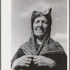 Old Spanish-American woman, Taos County, New Mexico.
