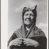 Old Spanish-American woman, Taos County, New Mexico