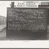 Bulletin board, Newton, N.J.