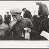 Railroad workers eating lunch, Windsor Locks, Conn.