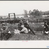 Railroad workers eating lunch, Windsor Locks, Connecticut.