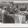 Selling apples, Jacksonville, Texas