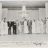 Mary Hinkson, Martha Graham, and dancers of the Martha Graham Dance Company with President Lyndon B. Johnson and Lady Bird Johnson, no. 155