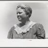Wife of migratory laborer at the Agua Fria Migratory Labor Camp, Arizona