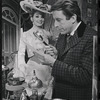 Inga Swenson and Fritz Weaver in the stage production Baker Street