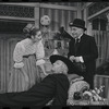 Inga Swenson, Fritz Weaver and Martin Wolfson in the stage production Baker Street