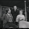 Fritz Weaver, Martin Gabel and Inga Swenson in the stage production Baker Street