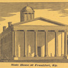 Ghaut of Cutwa, on the Gangel, India ; State House at Frankfort, KY., opp. p. 553
