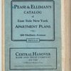 Pease & Elliman's catalog of East Side New York apartment plans [1929]