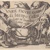 Varie figure gobbi, suite appelée aussi Les bossus, Les pygmées, Les nains grotesques
