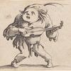 Le bancal jouant de la guitar