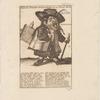 Actieuse Nacht-Wind-Zanger met zyn Tover Slons