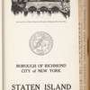 Polk's Staten Island (Borough of Richmond) directory: containing an alphabetical directory of business concerns and private citizens with wives' first names shown, a street and avenue guide, and much information of a miscellaneous character : also a buyers' guide and a complete classified business directory. Vol. 1, 1933-34