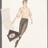 Costume sketches for Dances at a gathering [choreographed by] Jerome Robbins