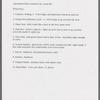Prop list (four successive drafts)