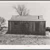 Home of borrower B.C. Aaron before tenant purchase loan. Eddy County, New Mexico