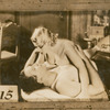 Mae West and an unidentified actor in the stage production The Constant Sinner