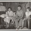Family on relief living in Tin Town, Caruthersville, Missouri