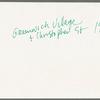 Greenwich Village, New York City, 1969: contact sheet 3
