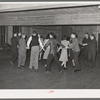 Dancing a Paul Jones at Jaycee buffet supper and party in Eufaula, Oklahoma. See general caption number 25