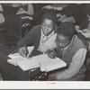 Negro children in rural school. Creek County, Oklahoma