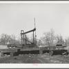 Oil well on the pump. Slick, Oklahoma