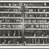 Farm equipment parts in stock at agricultural machine warehouse. Oklahoma City, Oklahoma
