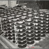 Parts for disk harrows. Farm equipment warehouse, Oklahoma City, Oklahoma