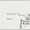 GLF Women's dance, Michaela Griffo and Pat Maxwell: contact sheet