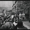 Gay Liberation Front women demonstrate at City Hall, New York