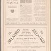 Metropolitan Opera House program featuring Loie Fuller