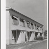 Front of apartment house on the Arizona part-time farms. Chandler Unit, Maricopa County, Arizona