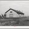 Railroad station at Corinne, Utah