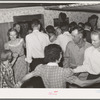 Dancing the Paul Jones at square dance. Pie Town, New Mexico