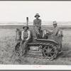 FSA cooperative tractor. Box Elder County, Utah