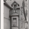 Detail of old residence. Telluride, Colorado