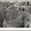 Formations at Bryce Canyon National Park. Garfield County, Utah