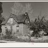 Old Mormon house at Tropic, Utah