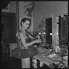Maria Tallchief, backstage at the City Center