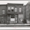 House and children in Negro section of Chicago, Illinois