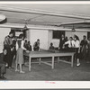 The basement of the Good Shepherd Community Center is largely used for recreational purposes. Chicago, Illinois