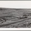 Farming land in the valley of the Wever River. Morgan County, Utah